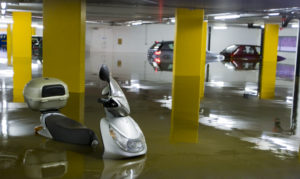 commercial water damage st george